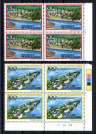 RC 19201 COTE D'IVOIRE COTE 440€ N° 701C / 701D TOURISME EN COTE D'IVOIRE BLOCS DE 4 NEUF ** MNH  - TB - Costa De Marfil (1960-...)