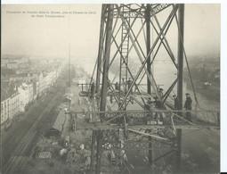 NANTES - CARTE DOUBLE 18X14 - Panorama Dans La Brume Pris En Décembre 1902 Du Pont Transbordeur - Nantes