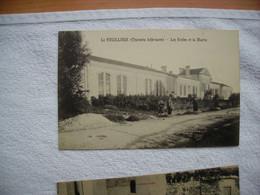 LE FOUILLOUX Les écoles Et La Mairie ANIMEE - Other Municipalities