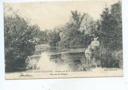 Court Saint Etienne Château De M Le Comte Goblet D' Alviela Un Coin Des étangs. - Court-Saint-Etienne