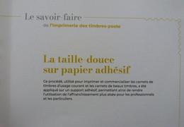 Année 2020 - Timbres La Taille Douce Sur Papier Adhésif 50 Ans Gravés Dans L'histoire - L'imprimerie Des Timbres-poste - Nuovi
