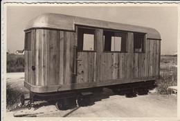 TRENO TRAIN VAGONE NON IDENTIFICATO - FOTO ORIGINALE - Trains