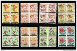 Burundi 0001/7+3A** X4 - Fleurs Surchargés - MNH - - 1962-69: Nuovi