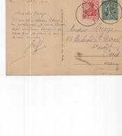Guerre 14/18.CP 1919 De COLMAR Pour PARIS - Guerre