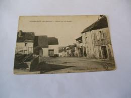 CP 70 - Purgerot , Place De La Poste - Other Municipalities