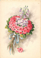 Ensemble De 5 Cartes Thème Des Fleurs édition BARRE DAYEZ Année 1945 - Flowers