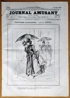Le Journal Amusant N°1418 Du 3/11/1883 Vivisection Par J. Belon - La Saint-Hubert Par C. Bombled - Paris En Réparation - 1850 - 1899