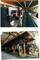 Banque De France Machine Franco Britannique Snox- LOT De 3 Photos-(17cm/12cm) - Banken
