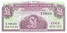 ROYAUME-UNI - GRANDE-BRETAGNE  1962 1 Pound - P-M36a NEUF UNC - Forze Armate Britanniche & Docuementi Speciali