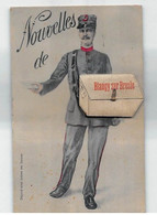 """1910 Carte à Système """" Nouvelles De BLANGY Sur BRESLE""""  CP ORIGINALE Unique Sur Delcampe - Met Mechanische Systemen"""