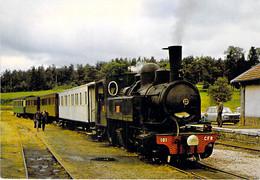 **  Lot De 2 Cartes **  TRAINS Train : Vapeurs Du Haut Vivarais - CPM GF - Zug Trenes Bahn Trein Treni Trenes Treni - Trains