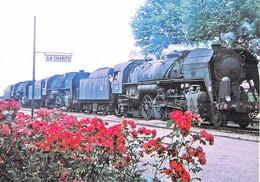 **  Lot De 7 Cartes **  TRAINS Train : Locomotive 141 R - CPM GF - Zug Trenes Bahn Trein Treni Trenes Treni Trenes - Trains