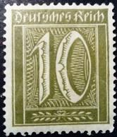 Allemagne Germany Deutschland 1921 Filigrane A Yvert 139 * MH - Ungebraucht