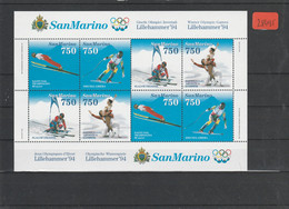 San Marino Block Postfrisch**    MiNr. 18 - Non Classificati