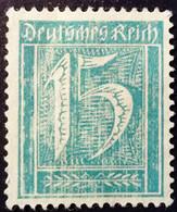 Allemagne Germany Deutschland 1921 Filigrane A Yvert 140 (*) MNG - Ungebraucht