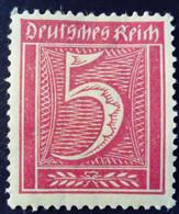 Allemagne Germany Deutschland 1921 Filigrane A Yvert 138 * MH - Ungebraucht