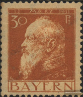 Bavaria 81I With Hinge 1911 Prince Regent Luitpold - Bavaria