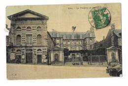 Vire - Le Théâtre Et L'Hôtel De Ville - F.L - Circulé En 1913 - - Vire