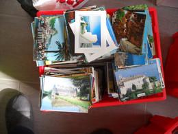BEAU LOT DE 1000,CPM,CARTES MODERNES ET SEMI MODERNES,FORMAT 15-10,THEMES,A TRIER,TOUT PAYSAGE,ARCHITECTURE - 500 Postcards Min.