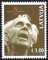 Latvia Lettland Lettonie 2020 (14) Dailes Theatre 100 Years - Eduards Smilgis, The Founder Of Theatre - Latvia