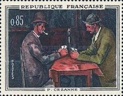 France, 1961, Michel 1374, French Art (Cézanne/card Players), 1v, MNH - Andere