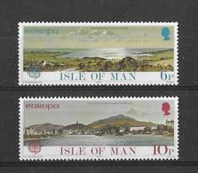 EUROPA CEPT ISLE DE MAN ( N° 88/89) NEUF** - 1977