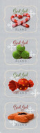 Aland - 2020 - Christmas Seals - Mint Self-adhesive Charity Stamp Set - Aland