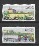 EUROPA CEPT MALTE ( N° 549/550) NEUF** - 1977