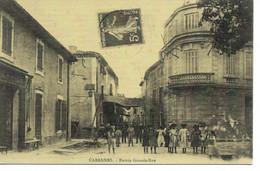 L55B231 - Cabannes - Entrée Grande Rue - Reproduction La Belle époque - NEP - Sin Clasificación