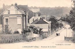 Liancourt         60        Avenue De La Gare     - 1 -.       (voir Scan) - Liancourt