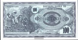 Makedonien Pick.number: 4a Uncirculated 1992 100 Denar - Macedonië