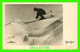 SPORT D'HIVER - LE SKI EN HIVER - CIRCULÉE EN 1937 - C.E.L.A. - PHOTO, E. MEERKAMPER - Deportes De Invierno