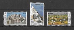 EUROPA CEPT GRECE ( N° 1242/1243/1244) NEUF** - 1977