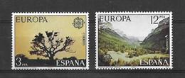 EUROPA CEPT ESPAGNE ( N° 2052/2053) NEUF** - 1977