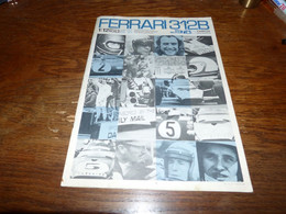 Manuel Tamiya Montage Modélisme Ferrari 312B  1:12 Th. Scale 16 Pages - Sonstige