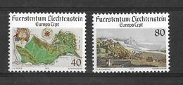 EUROPA CEPT LIECHTENSTEIN ( N° 612/613) NEUF** - 1977
