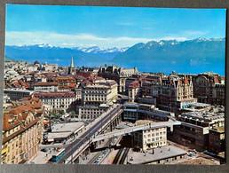 Lausanne Le Grand Pont/ Lac Léman/ Bus - VD Waadt