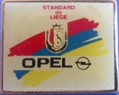 A309 Pin's Foot Football Standard De Liège Belgique Sponsor OPEL Achat Immédiat - Opel