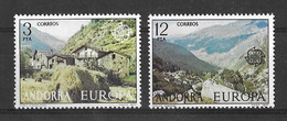 EUROPA CEPT ANDORRE ESPAGNOL ( N° 100/101) NEUF** - 1977