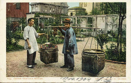 12247 - SAN FRANCISCO : CHINESE VEGETABLE PEDDLER    En  1904  Chinois  Chine - San Francisco