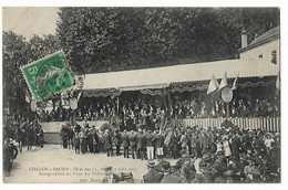 Chalon Sur Saone - Fetes 1913 - Inauguration Du Pont - Chalon Sur Saone