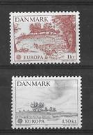 EUROPA CEPT DANEMARK ( N° 640/641) NEUF** - 1977