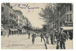 Chalon Sur Saone - Boulevard De La Republique - Chalon Sur Saone