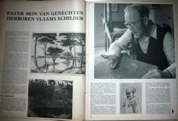 Pater Mon Van Genechten (20.05.1965) Kunstenaar, Geboren Te Geel, Provincie Antwerpen - Magazines & Newspapers