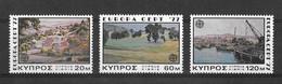 EUROPA CEPT CHYPRE ( N° 459/460/461) NEUF** - 1977
