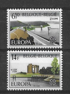 EUROPA CEPT BELGIQUE ( N° 1848/1849) NEUF** - 1977