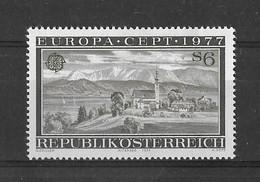 EUROPA CEPT AUTRICHE ( N° 1383) NEUF** - 1977