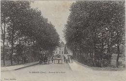 18  Saint Amand -  Montrond  Avenue De La Gare - Saint-Amand-Montrond