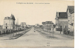 VAIRES-sur-MARNE - Boulevard De Lorraine - Other Municipalities