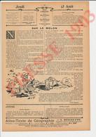 Presse 1903 Cloche à Melon Melons Légume Jardinage Jardinier Conseil Municipal D'Angers 49 M. Hérault Horticulture 241/4 - Sin Clasificación